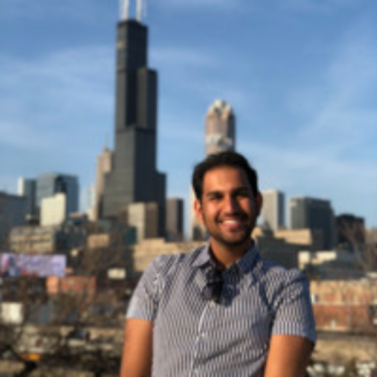 UIC student who went abroad in Chicago