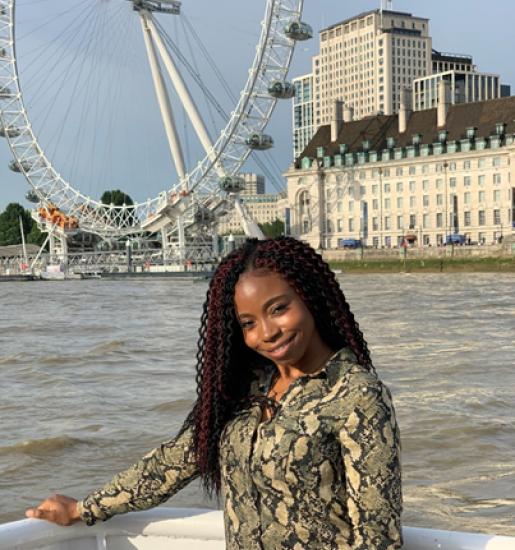 Deborah Salami Studying abroad