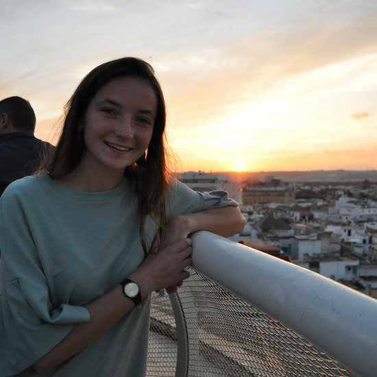 Student Studying Abroad in Seville