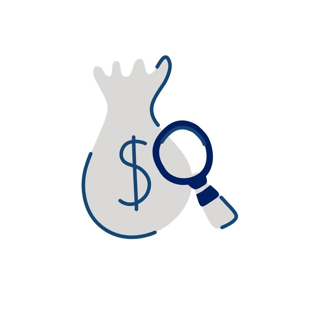 Research & Money clipart