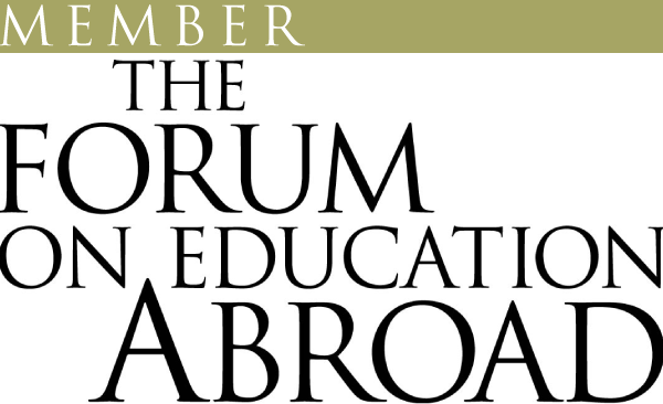 Logo for the Forum on Education Abroad