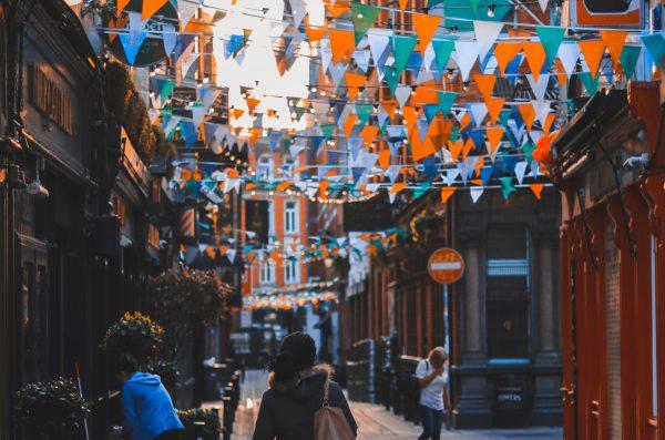 street in Dublin Ireland